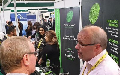 Busy day on the Signature stand at NACFB expo